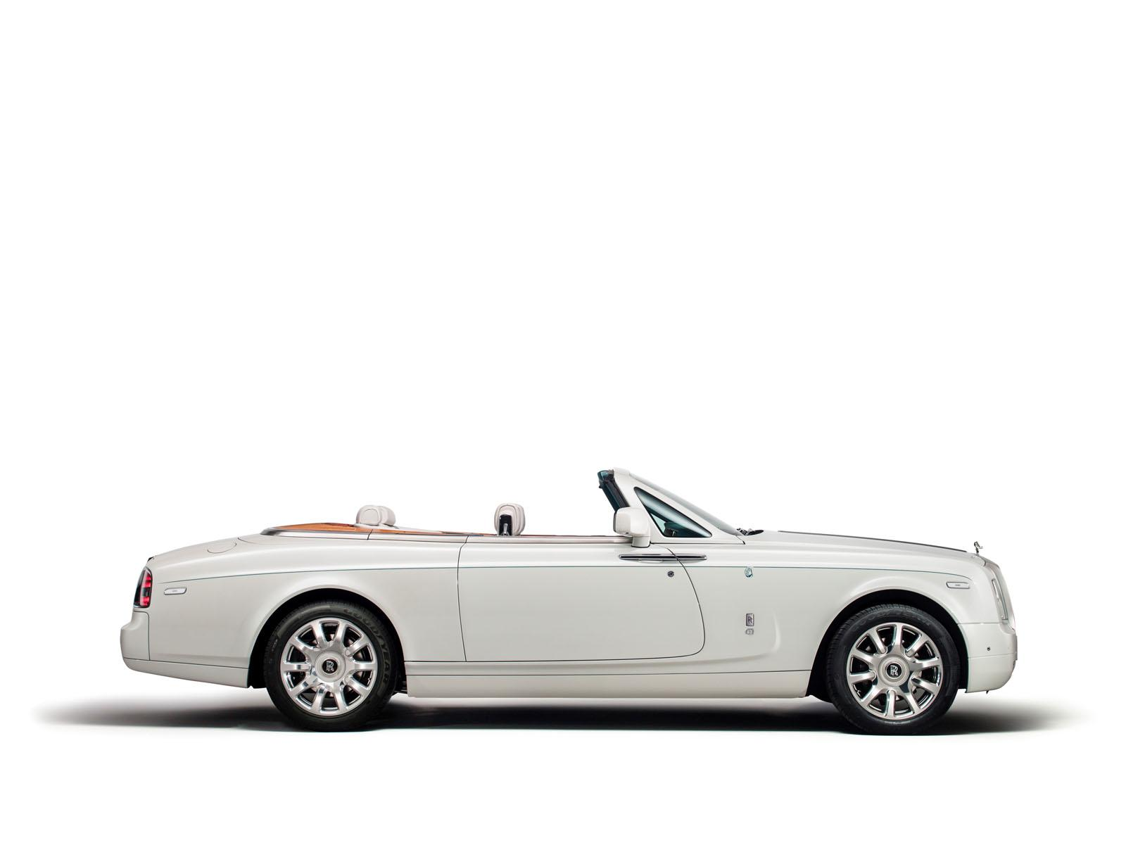 ROLLS-ROYCE MAHARAJA PHANTOM DROPHEAD COUPÉ side