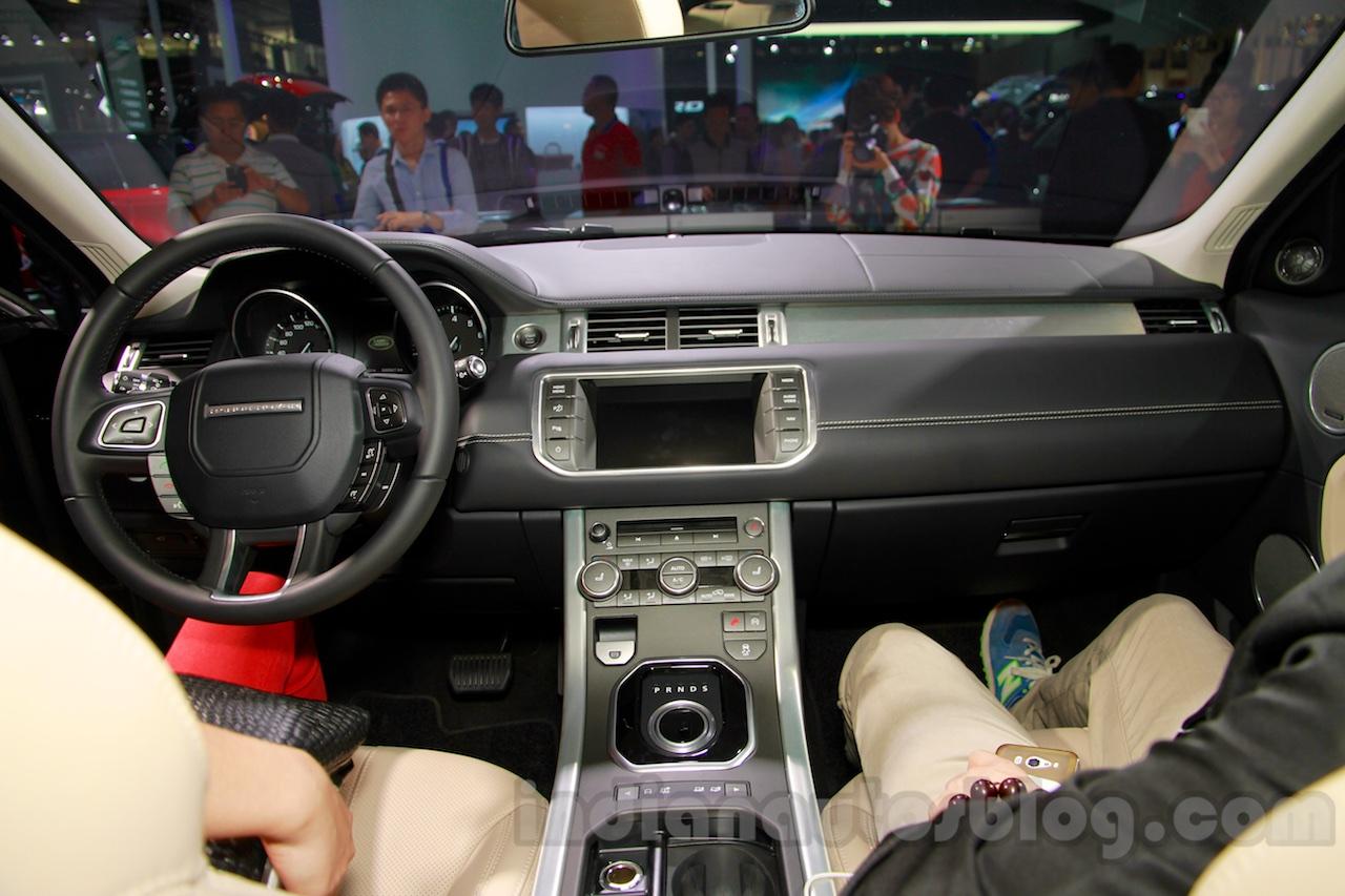 Range Rover Evoque Able interior at 2014 Guangzhou Auto Show