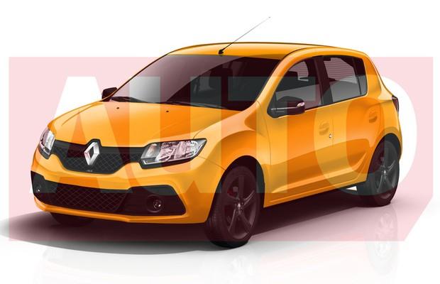 Renault Sandero RS rendering