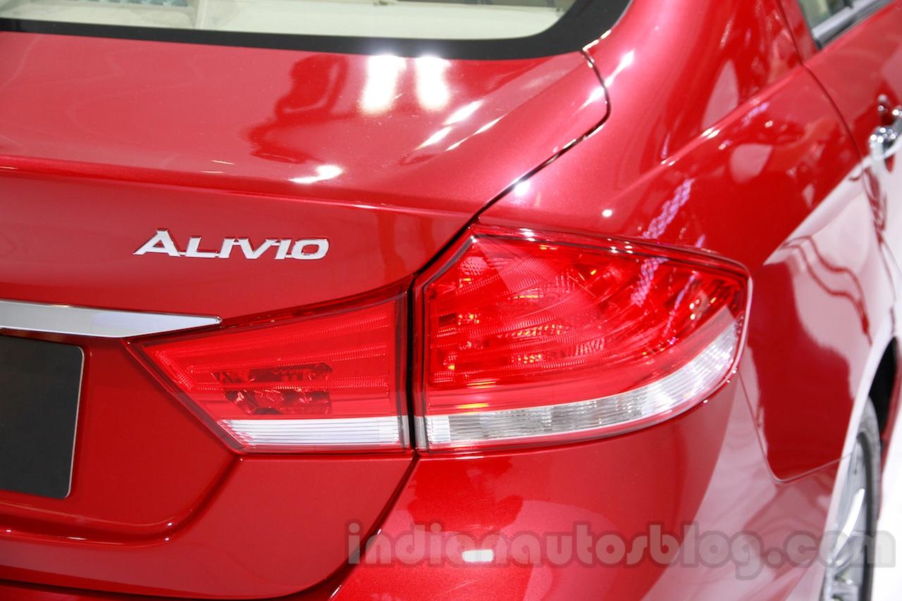 Suzuki Alivio taillight at 2014 Guangzhou Auto Show