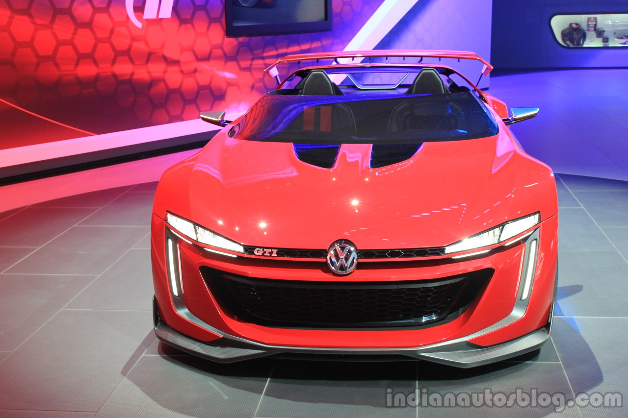 VW GTI Roadster concept at the 2014 Los Angeles Auto Show