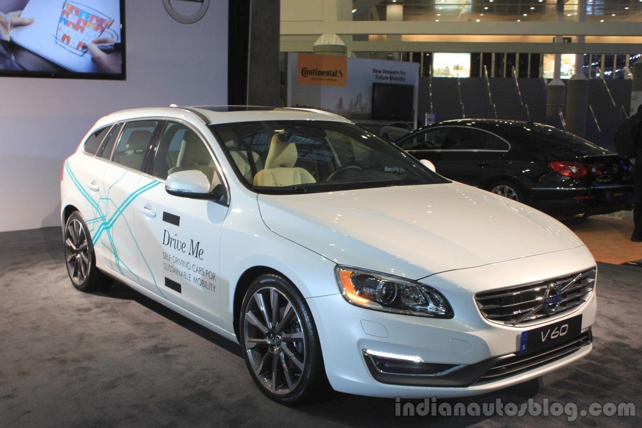 Volvo Drive Me autonomous vehicle at the 2014 Los Angeles Auto Show