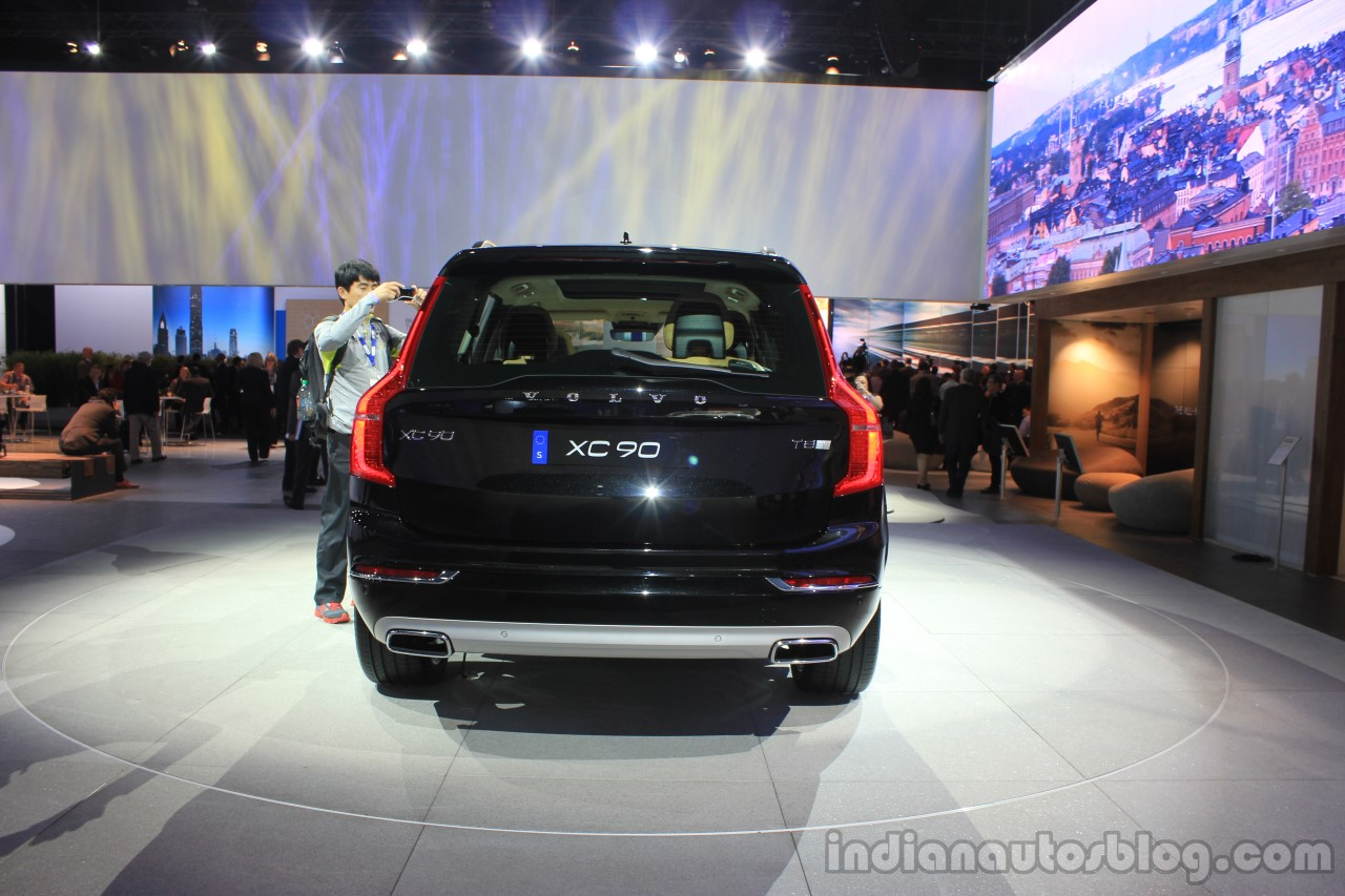 Volvo XC90 T8 rear at the 2014 LA Auto Show