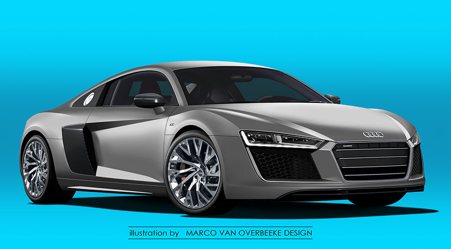 2015 Audi R8 Front three quarter