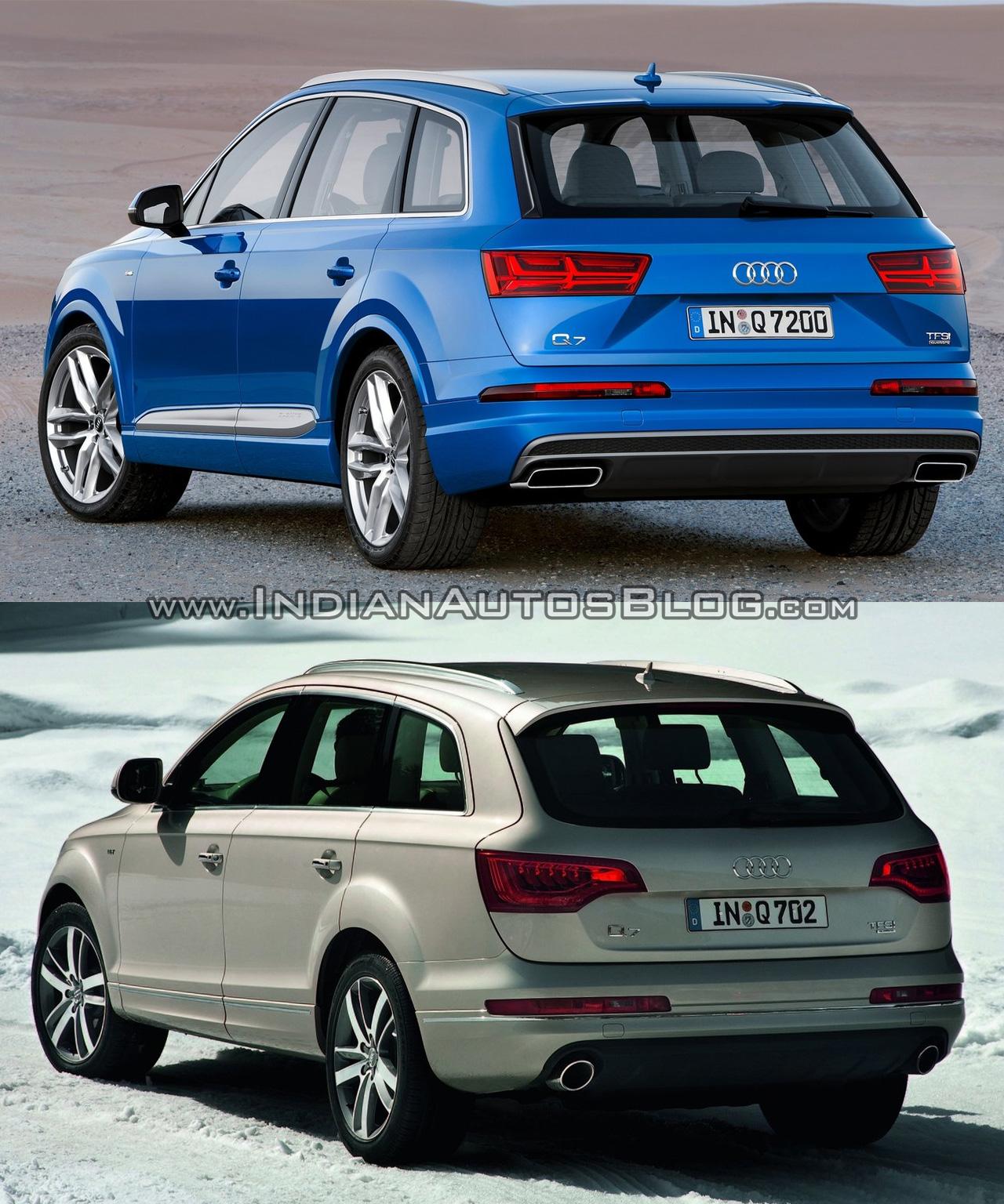 2016 Audi Q7 Vs 2012 Audi Q7