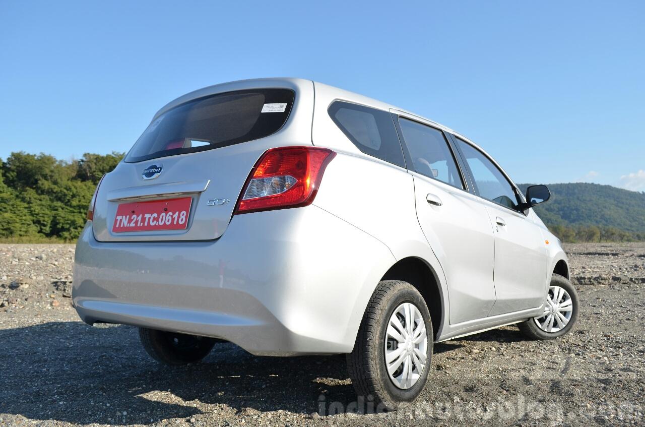 Datsun Go+ Review rear