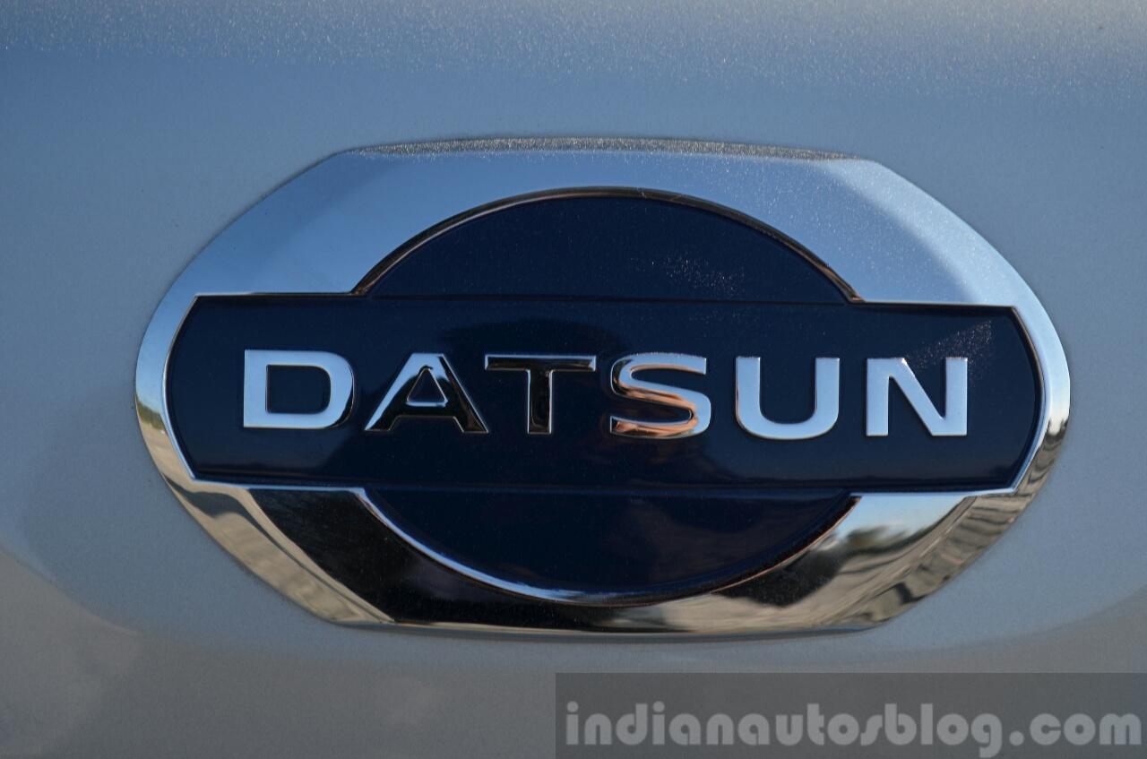 Datsun Go+ badge Review