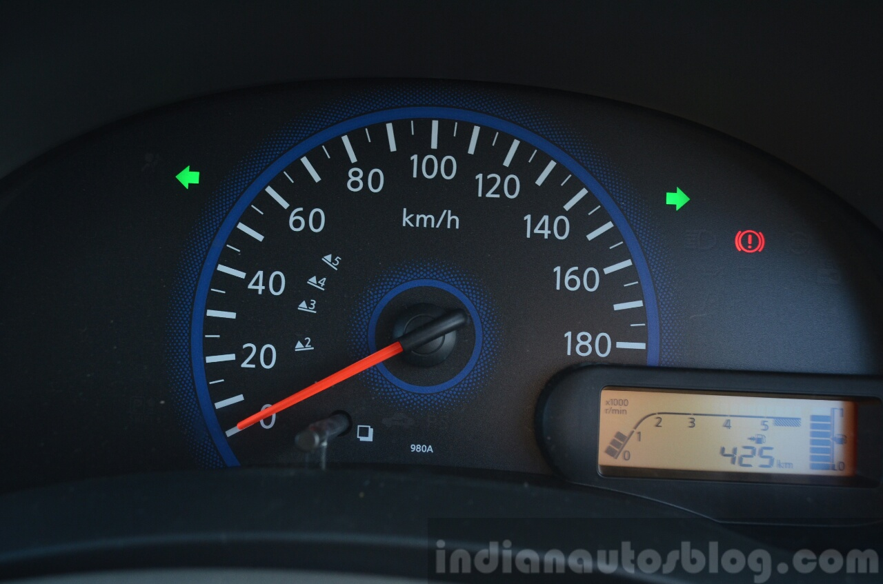 Datsun Go+ cluster Review