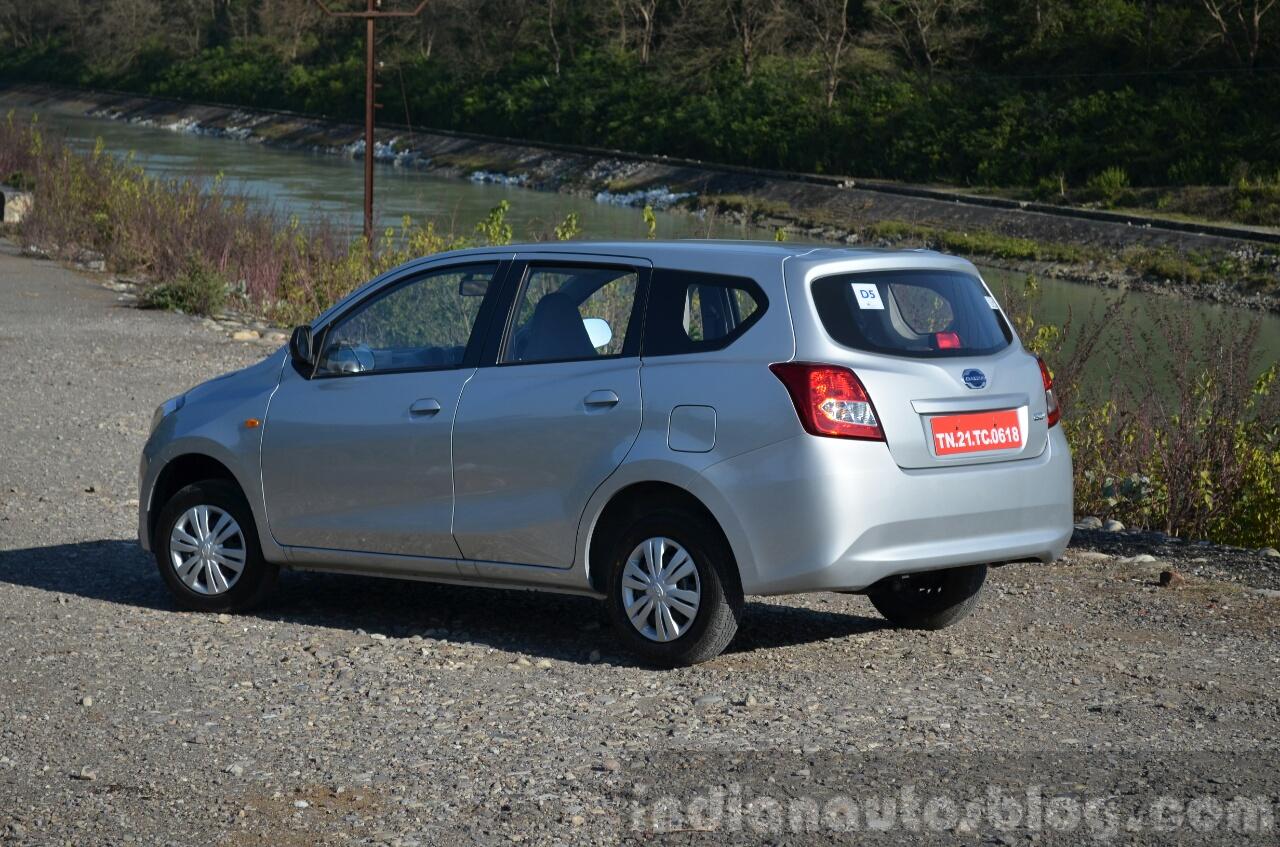 Datsun Go+ rear quarters Review