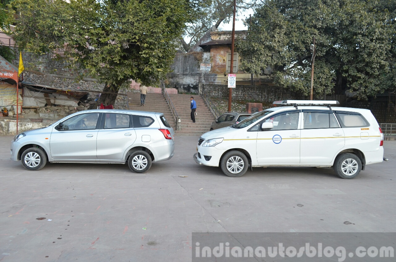 Datsun Go+ with Toyota Innova Review