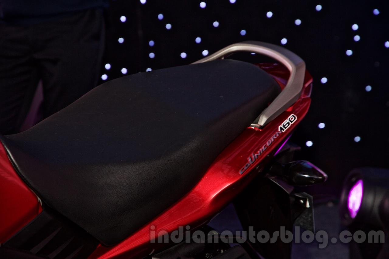 Honda CB Unicorn 160 seat