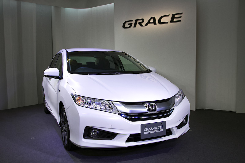 Honda Grace Hybrid (Honda City) launched - Japan