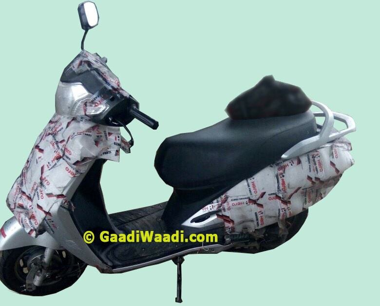 Heros New Honda Activa Rival Snapped For The First Time