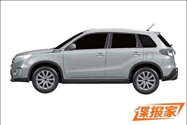 Suzuki Vitara side patent China