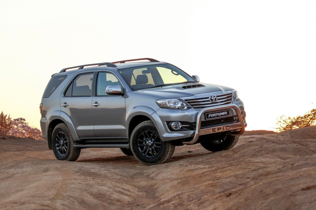 Toyota Fortuner Epic Edition front three quarter