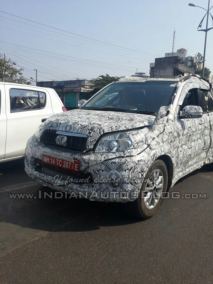 Toyota Rush spied in India