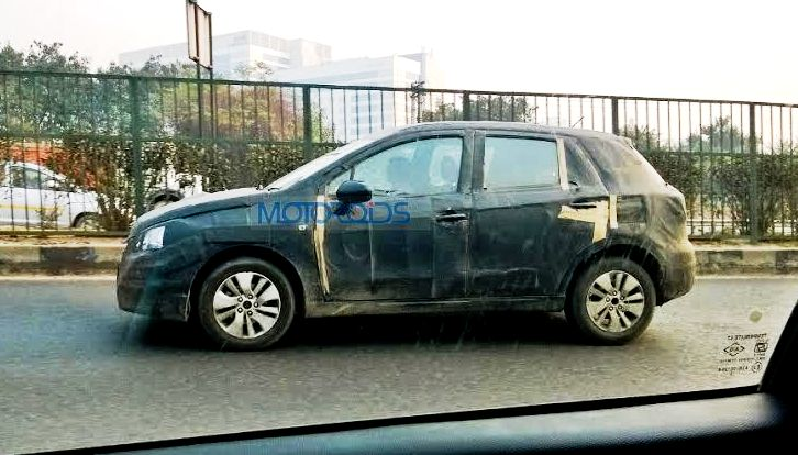 2015 Maruti Suzuki SX4 S Cross spied side