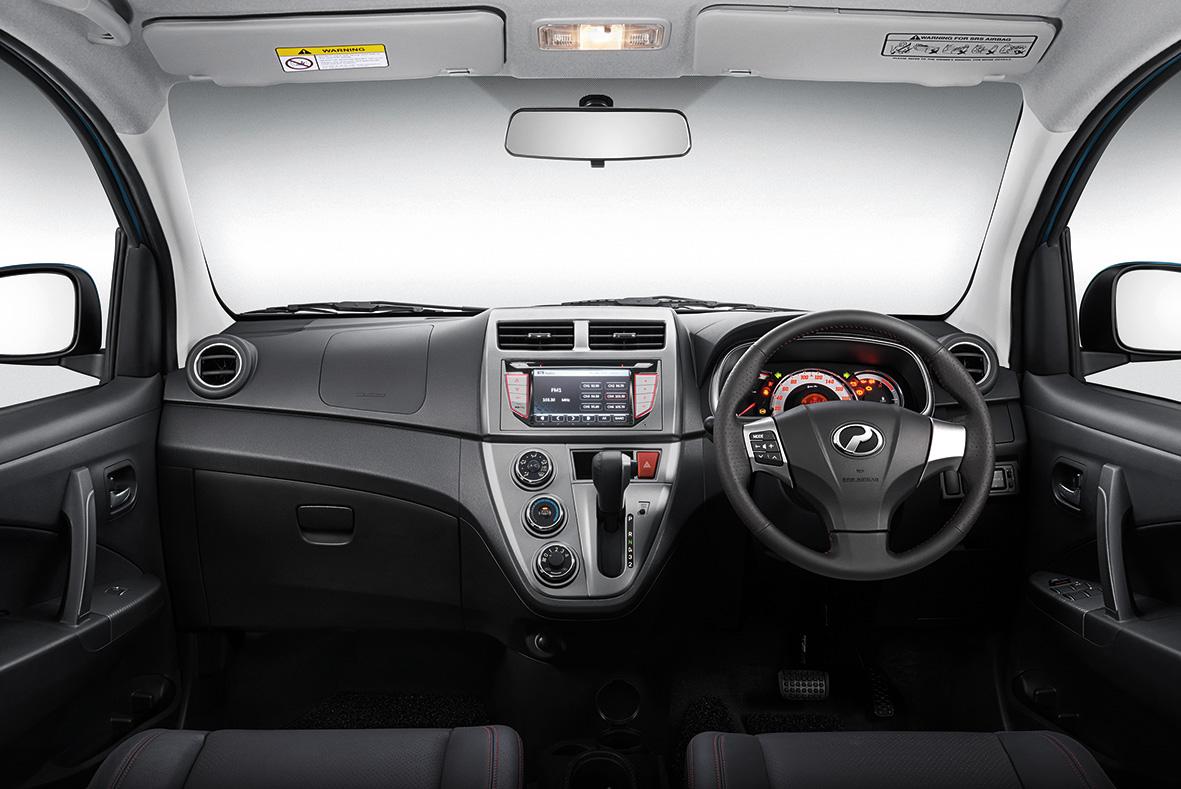 2015 Perodua Myvi 1.5 Advance dashboard