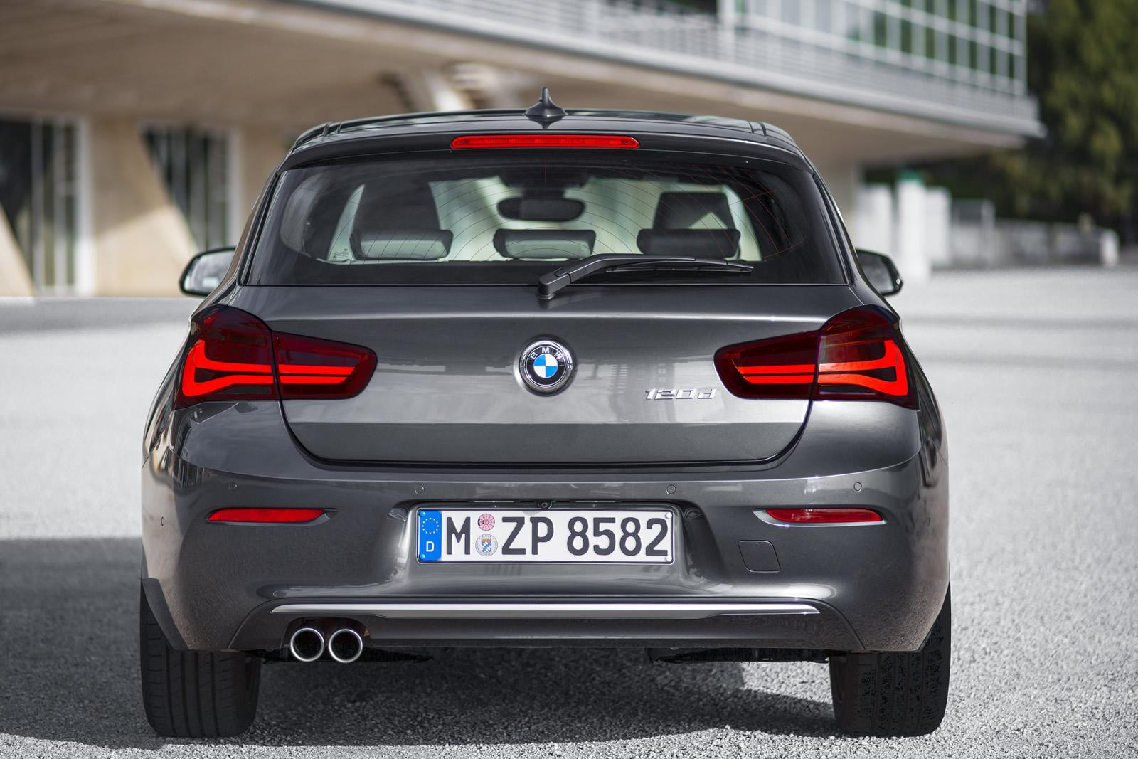 2016 Bmw 1 Series Facelift Revealed Ahead Of Geneva Show
