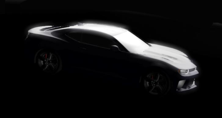 2016 Chevrolet Camaro rendering unofficial