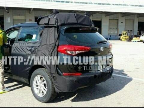 2016 Hyundai ix35 spied