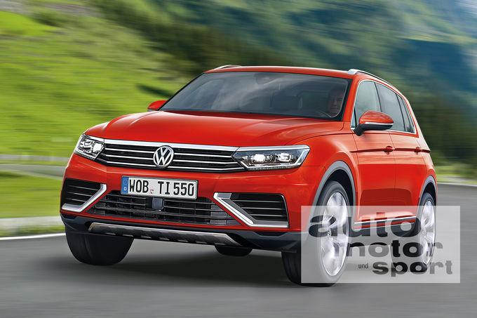 2016 VW Tiguan rendering