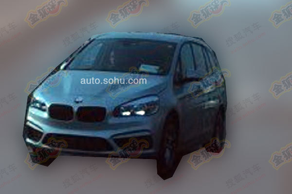 BMW 2 Series Active Tourer 7-seat MPV spied