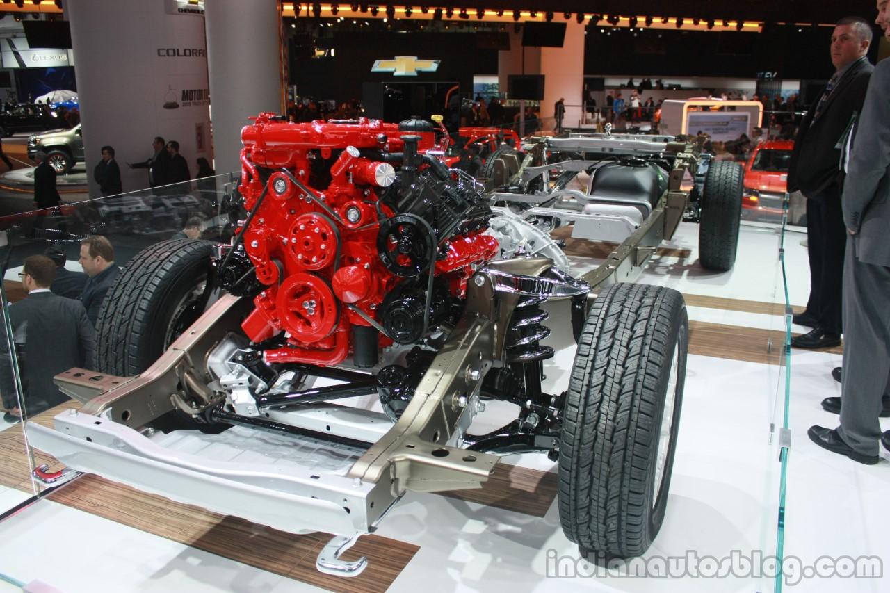 Nissan 5.0 Cummins >> Cummins 5.0L V8 diesel engine at the 2015 Detroit Auto Show