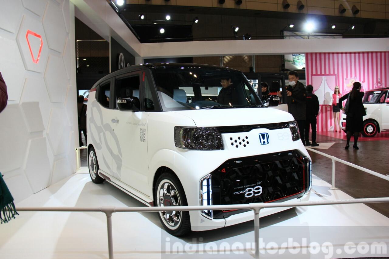 Honda S660 Price >> Honda N-Box Cyber Concept at 2015 Tokyo Auto Salon