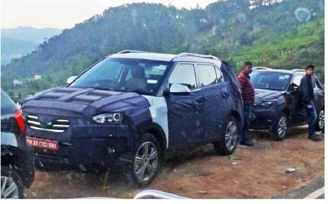 Hyundai ix25 Hyundai Elite i20 Cross spied