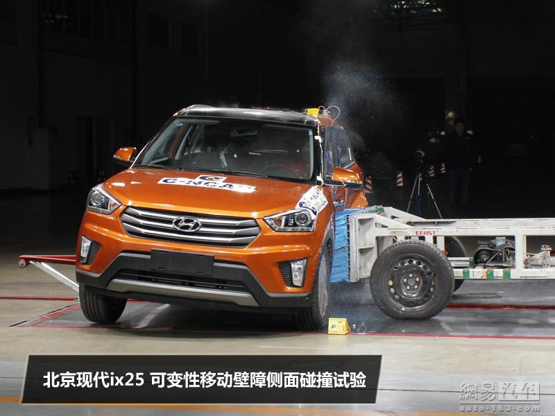 Hyundai ix25 crash test side
