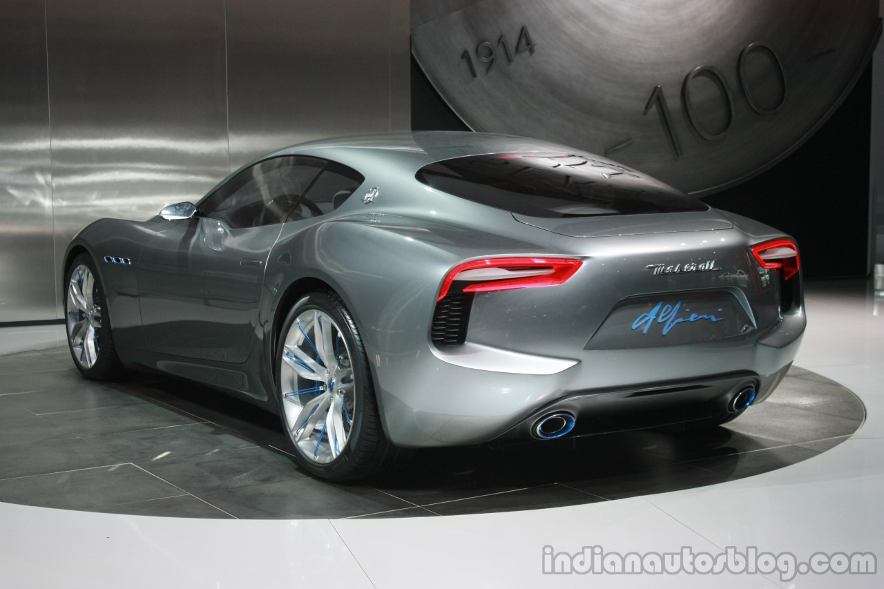 maserati alfieri concept at 2015 detroit auto show. Black Bedroom Furniture Sets. Home Design Ideas