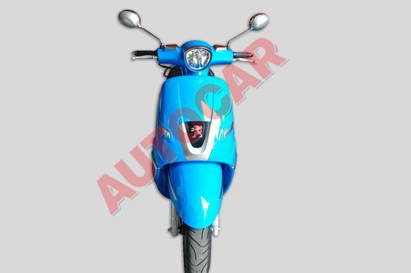 Peugeot Django Sport spied India