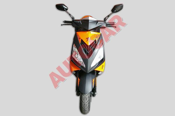 Peugeot Streetfight spied India