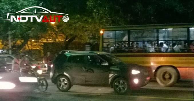 hyundai ix25 compact SUV spied