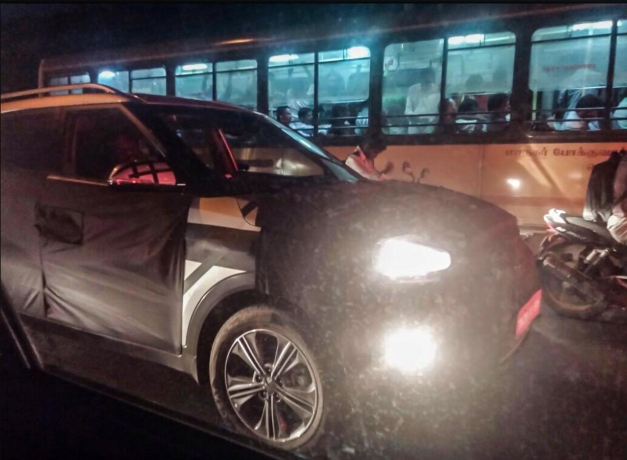 2015 Hyundai ix25 fornt three quarter spied