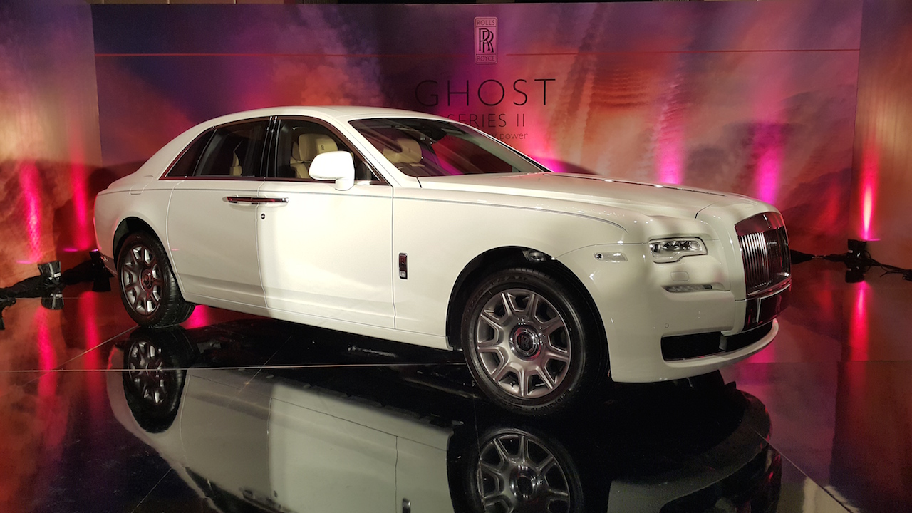 Rolls Royce Ghost Series II launched in Chennai