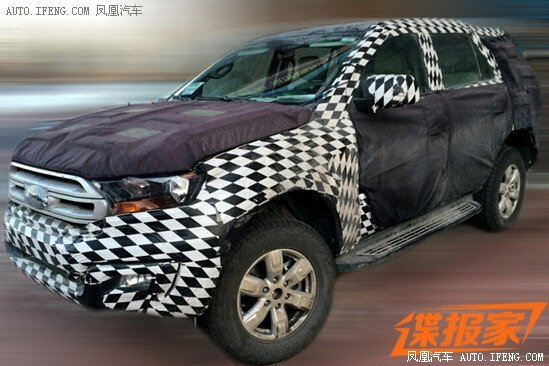 2016 Ford Everest With Manual Gearbox Spotted In China