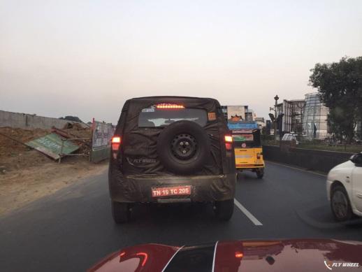 2016 Mahindra U301 spied rear