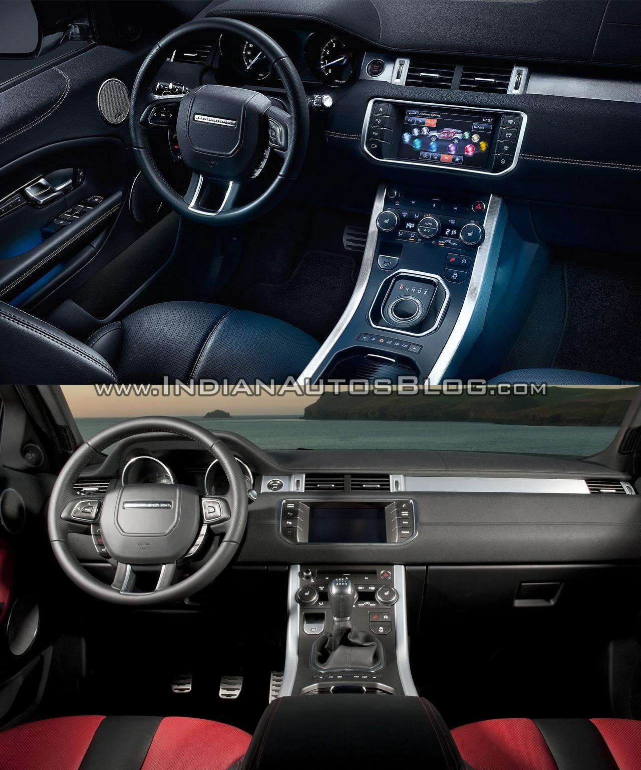 Range Rover Evoque Interior India 2018
