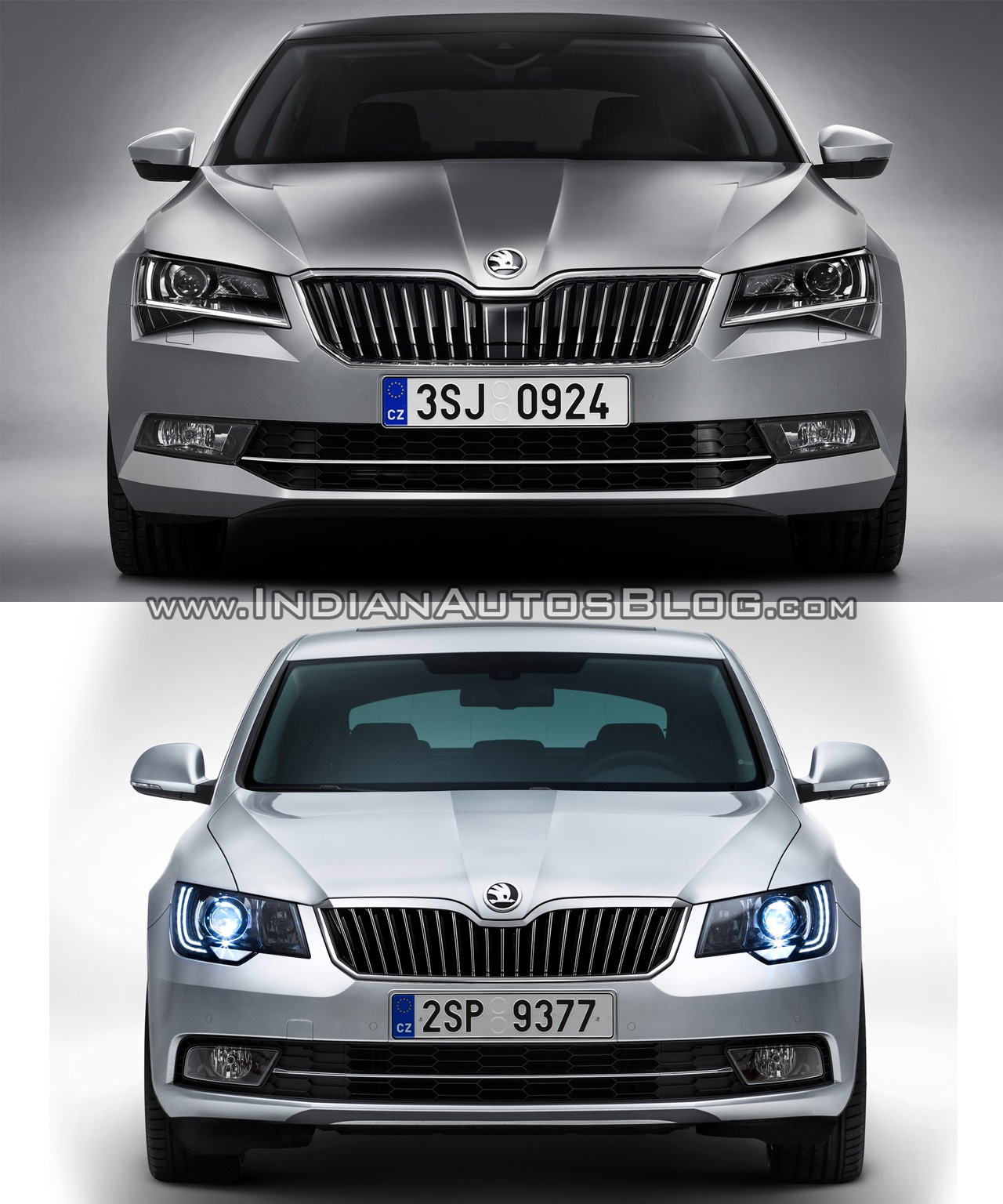 2016 Skoda Superb Vs 2014 Skoda Superb Old Vs New