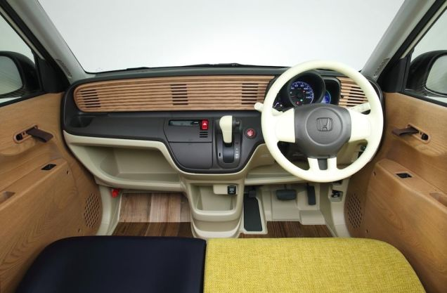 Honda N-One Natural Concept interior dashboard Japan