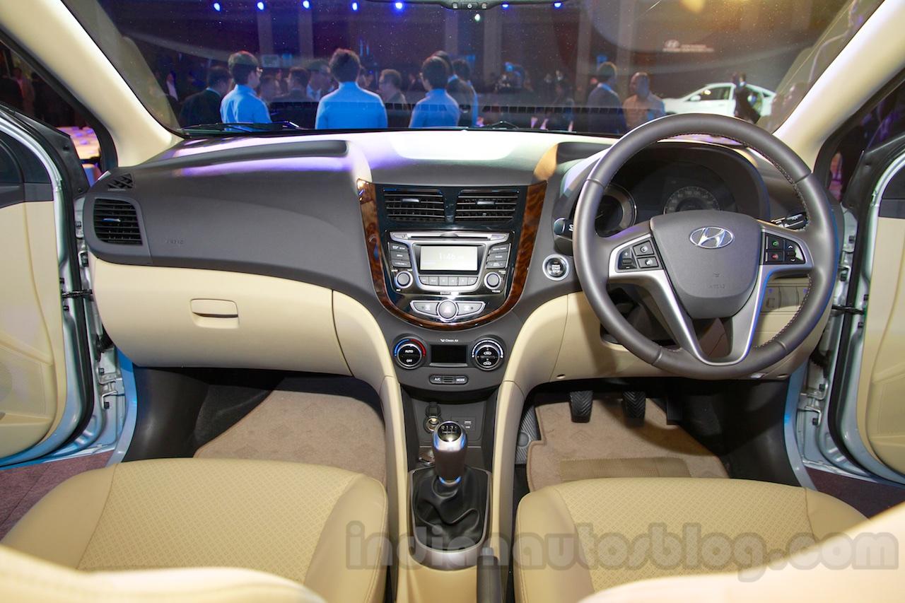 Hyundai Verna facelift interior launch