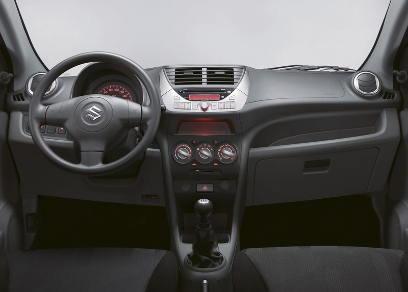 Suzuki Alto Celebration interior Netherlands