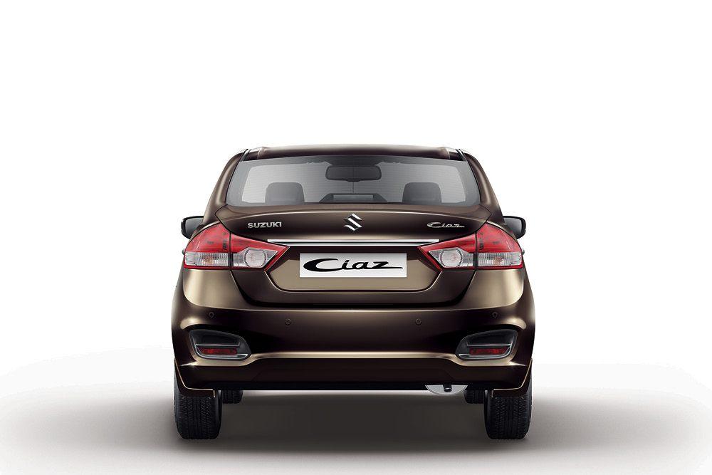 Suzuki Ciaz rear Mexico specification