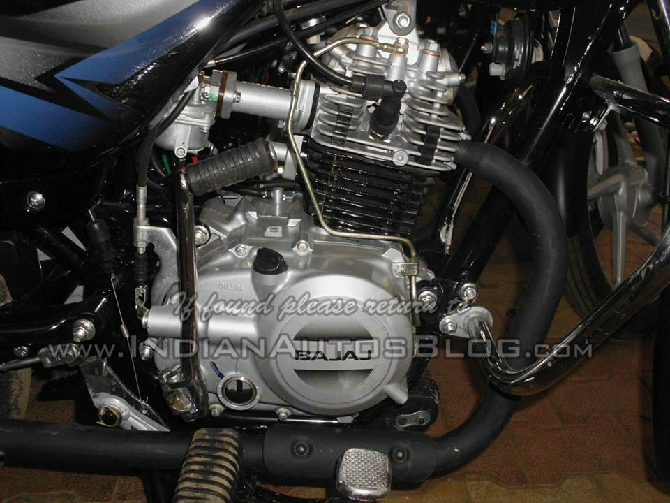 2015 Bajaj CT 100 engine spied