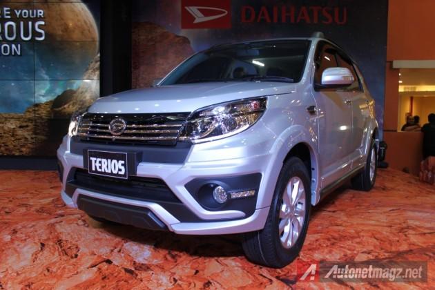2015 Daihatsu Terios facelift front fascia
