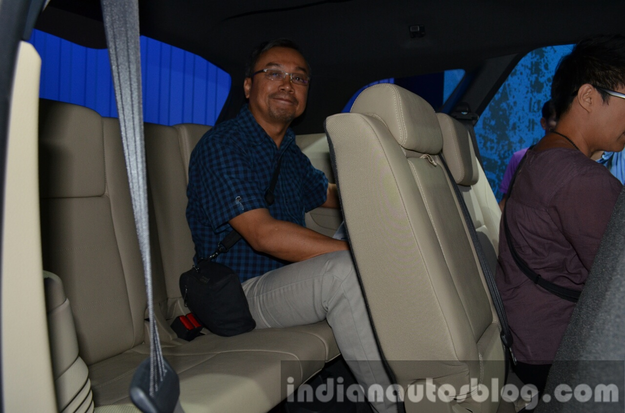 2015 Ford Everest third row seats 2015 Ford Endeavour at the 2015 Bangkok Motor Show