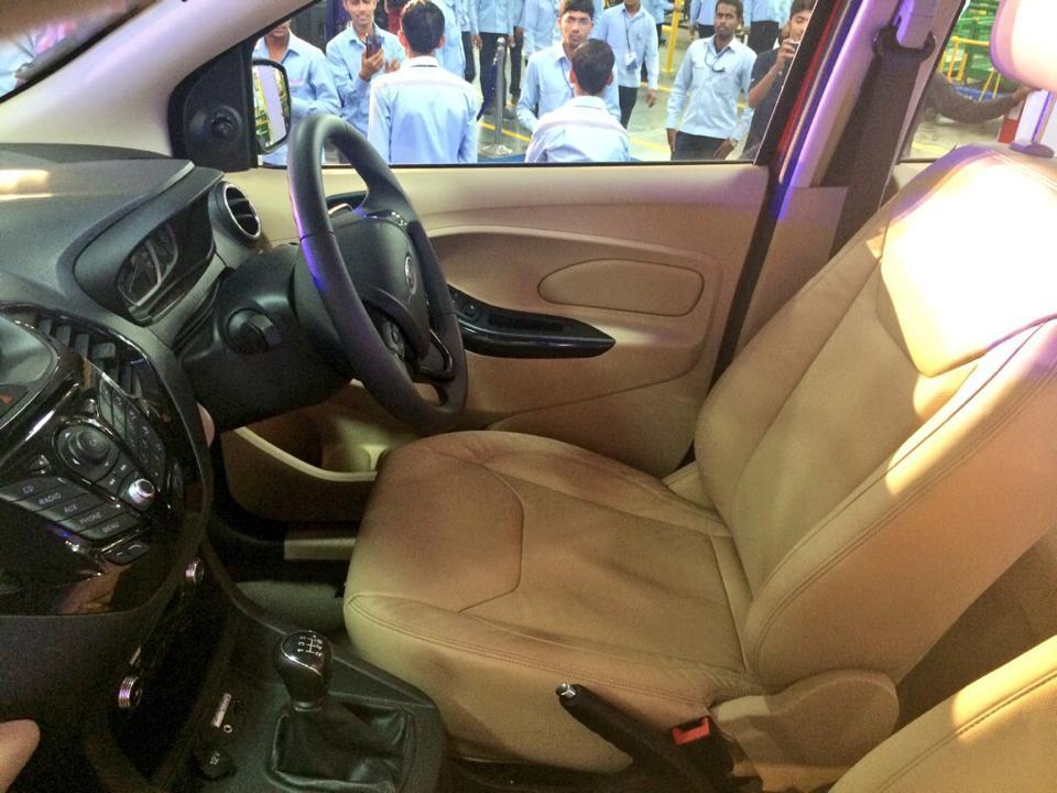 2015 Ford Figo Aspire interior cabin