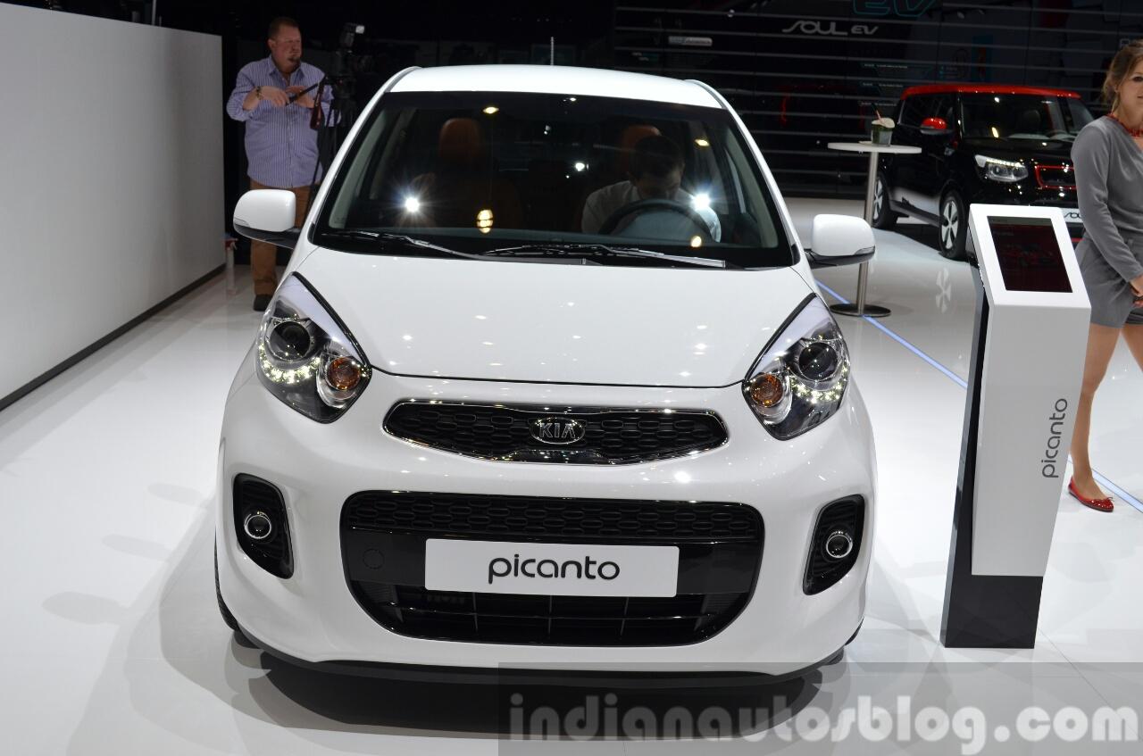 2015 Kia Picanto front(2) view at 2015 Geneva Motor Show
